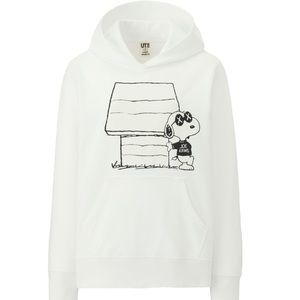 Uniqlo Kaws x Peanuts Hooded Sweatshirt NWT